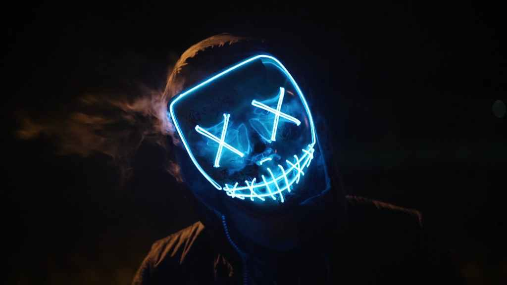 neon mask - if you dont know someone well should you keep them seperate and secret?