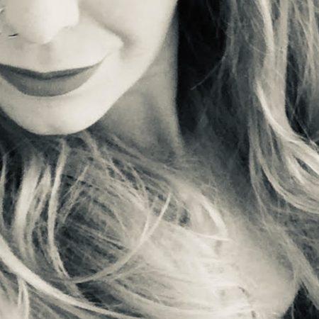 nose ring thiskindagirl black and white image of a swinging sex blogger