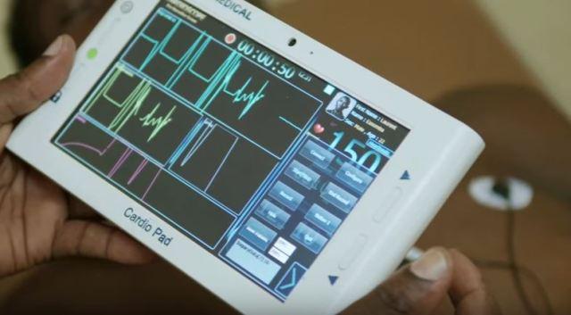 Cameroonian invents Cardiopad