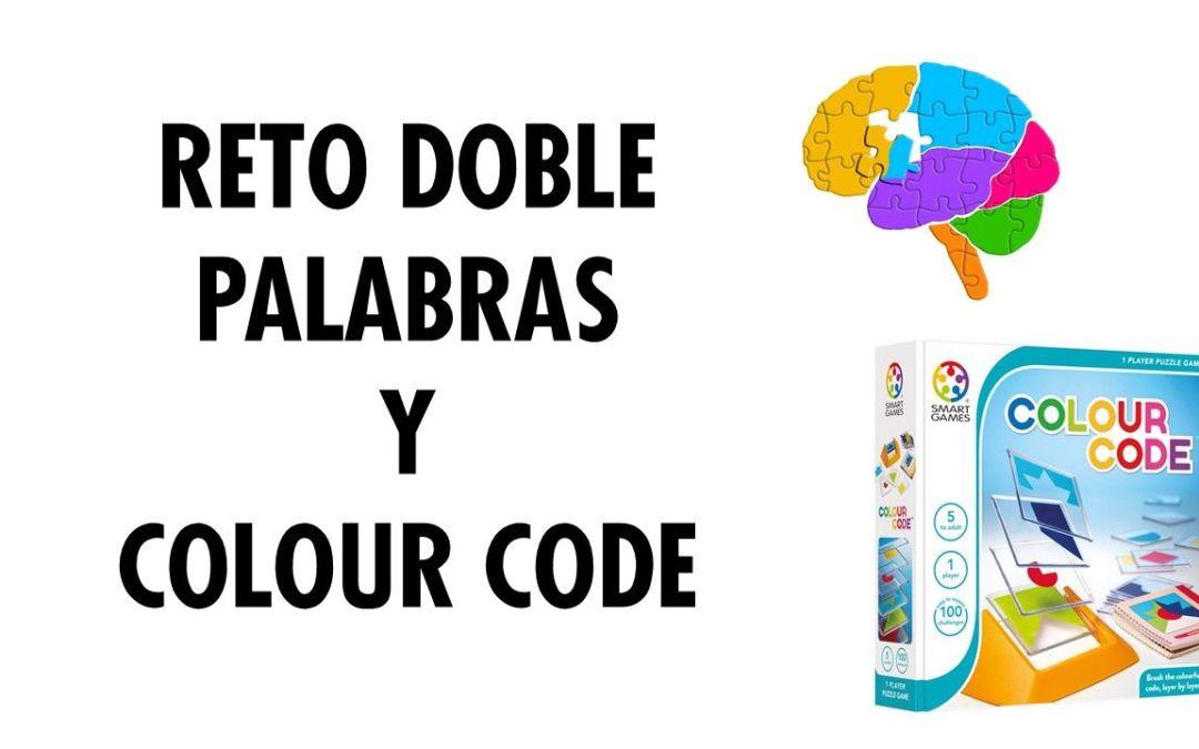 Videoreto doble con un ejercicio de palabras y con Colour Code