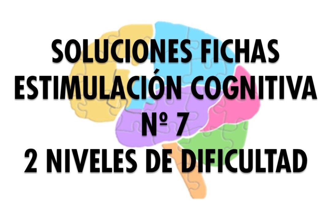 Soluciones ficha cognitiva nº 7