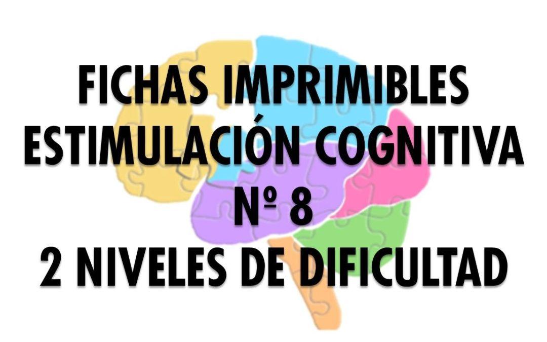 Ficha Estimulación Cognitiva nº 8