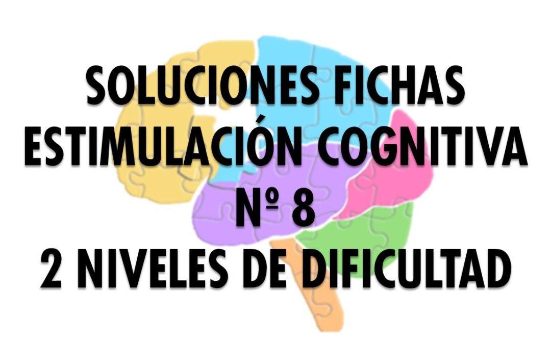 Soluciones ficha cognitiva nº 8