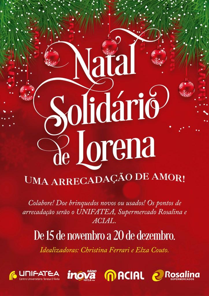 Cartaz Natal Solidário