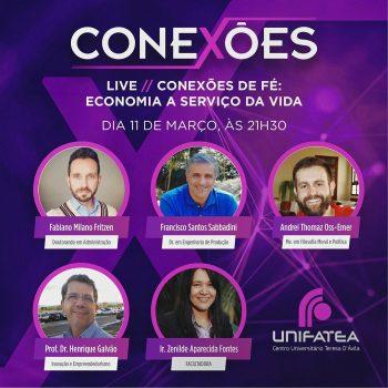 Live Conexões traz como pauta Economia