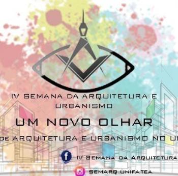 26 a 29 IV Semana de Arquitetura e Urbanismo