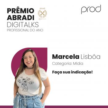 Ex-aluna de Jornalismo do UNIFATEA concorre ao Prêmio Abradi Digitalks Profissional Digital