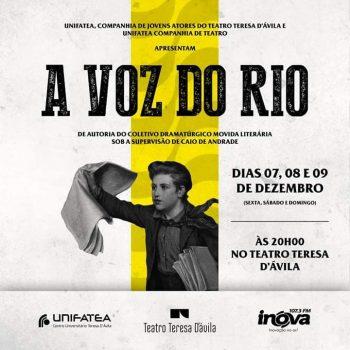 "UNIFATEA apresenta espetáculo ""A Voz do Rio"