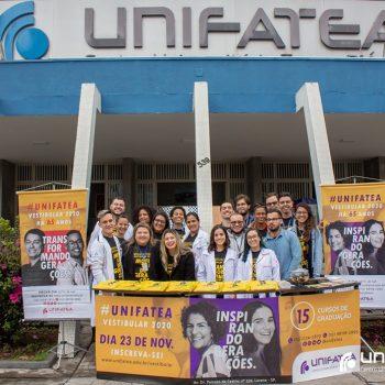 UNIFATEA promove ação social em Pit Stop