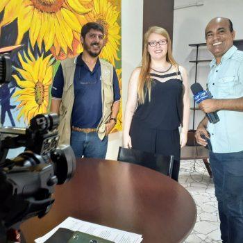 Profª. Me. Danielle Ribeiro fala sobre o aumento de produção de arroz no Vale do Paraíba no Canção Nova Notícias – assista a matéria