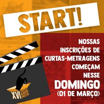 Estão abertas as inscrições para o XVI Cinefest Gato Preto