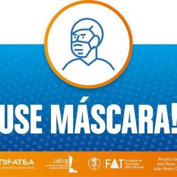 UNIFATEA e UERJ realizam parceria e criam alertas em forma de cartazes e stoppers