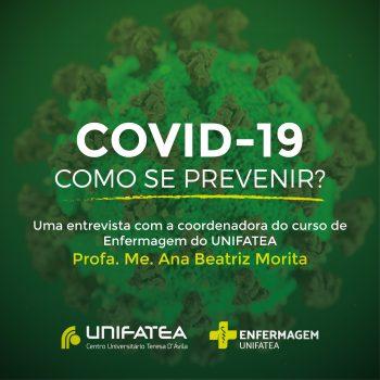 Veja as recomendações práticas de prevenção do Coronavírus