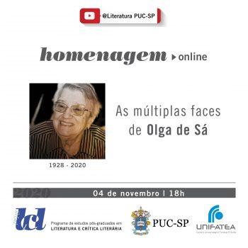 PUC-SP homenageia Ir. Olga de Sá