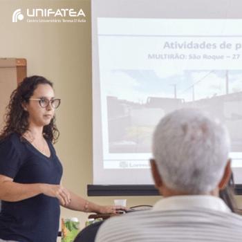 Alunos UNIFATEA participam de ação da Secretaria de Saúde no combate contra o mosquito Aedes Aegypit