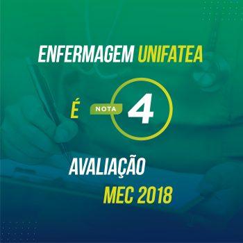 Curso de Enfermagem recebe avaliação de destaque pelo MEC