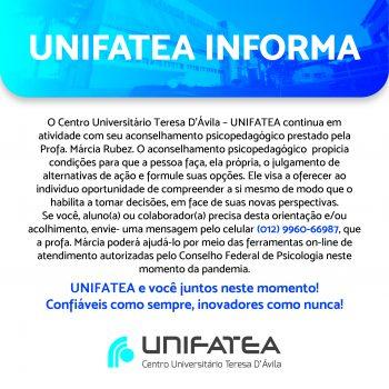 UNIFATEA oferece aconselhamento psicopedagógico