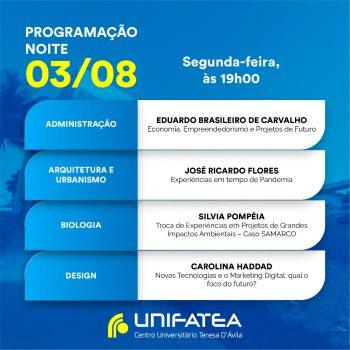Veja a programação: I SEMINÁRIO ON-LINE DE ESTUDOS INTERDISCIPLINARES:  esperança, empreendedorismo e segurança social.