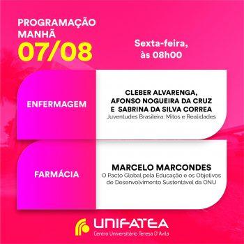 Veja a programação de amanhã do I Seminário Interdisciplinar do UNIFATEA