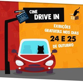 Cinefest Gato Preto 2020: Festival promove cine drive-in gratuito em Lorena e Guaratinguetá nesta semana