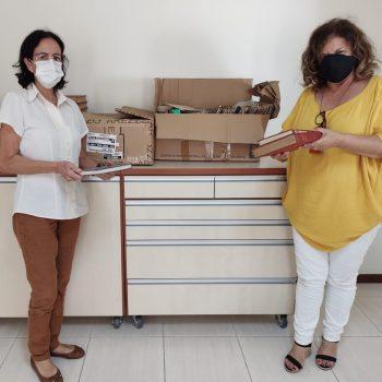 Núcleo de Extensão do UNIFATEA promove doação de livros