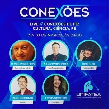 Live Conexões irá abordar um debate sobre a fé!