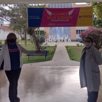 Volta das aulas práticas do curso de Enfermagem do UNIFATEA traz esperança para dias melhores