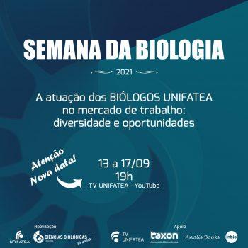 Semana da Biologia do UNIFATEA contará com palestras de ex-alunos do curso sobre as diversas oportunidades de atuação na área dentro do mercado de trabalho