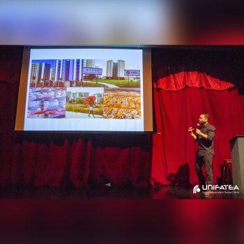 Aula magna de Arquitetura e Urbanismo fala sobre modelo moderno em reuso e a nova estética da cidade