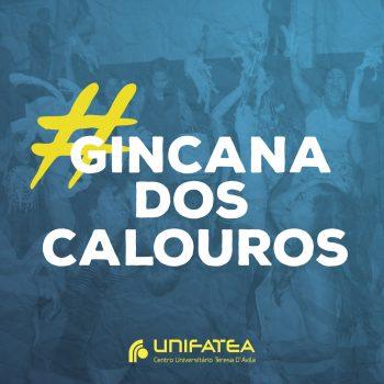Gincana Solidária 20/02 às 19h