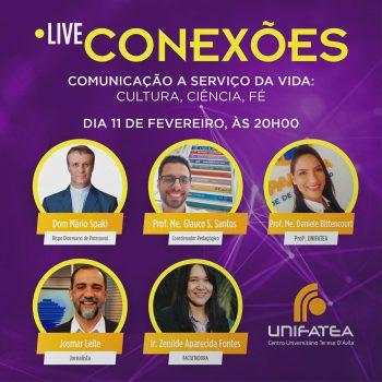 Live Conexões: Comunicação a serviço da vida