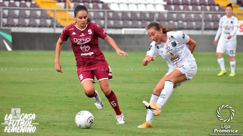 Jornada 12: Saprissa FF logra colocarse en la primer posición del Torneo de Apertura 2021