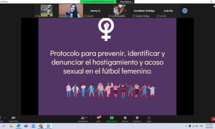 UNIFFUT inicia capacitaciones sobre el Protocolo contra el Acoso y Hostigamiento Sexual con clubes de Primera División Femenina