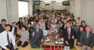 葵区で行われたファミリー礼拝(1月18日)