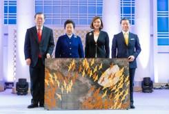 天地人真の父母様ご聖誕および基元節6周年勝利記念・神統一韓国国民連合出征式 日本から礼物|世界平和統一家庭連合News Online