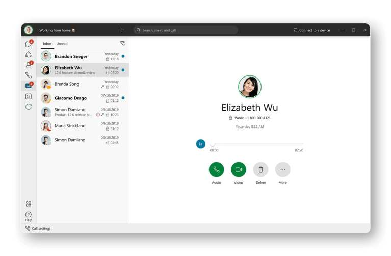 Connect your voicemail, view messages and access visual voicemail