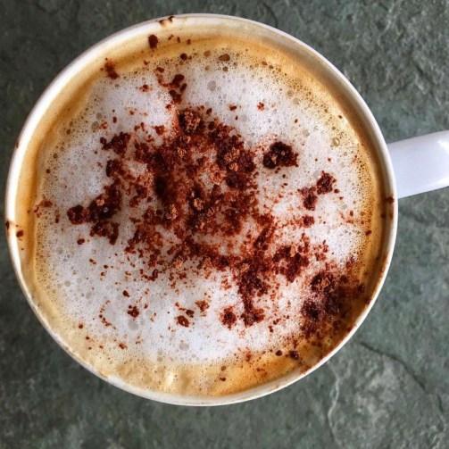 hot chocolate coconut oil