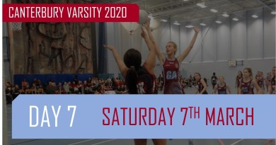 Varsity Day Seven: Park Run, Netball, Swimming, Sitting Volleyball and Basketball