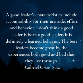 a good leader quote