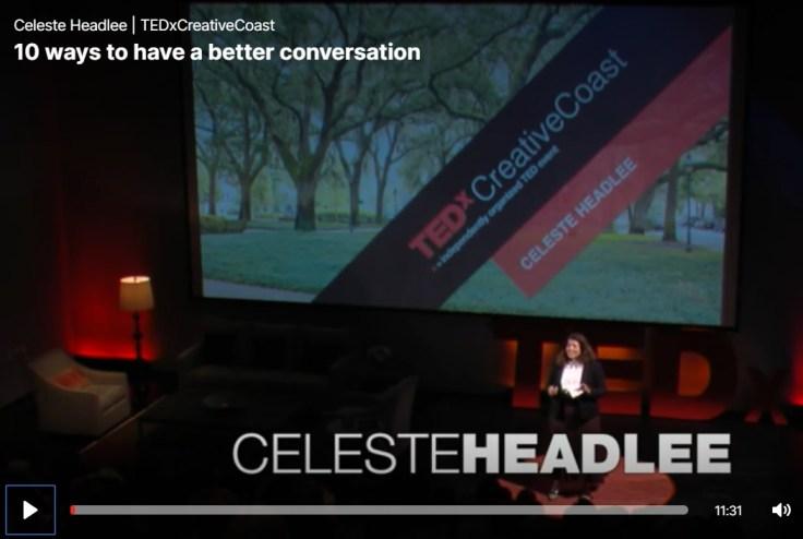 Celeste Headlee TedTalk