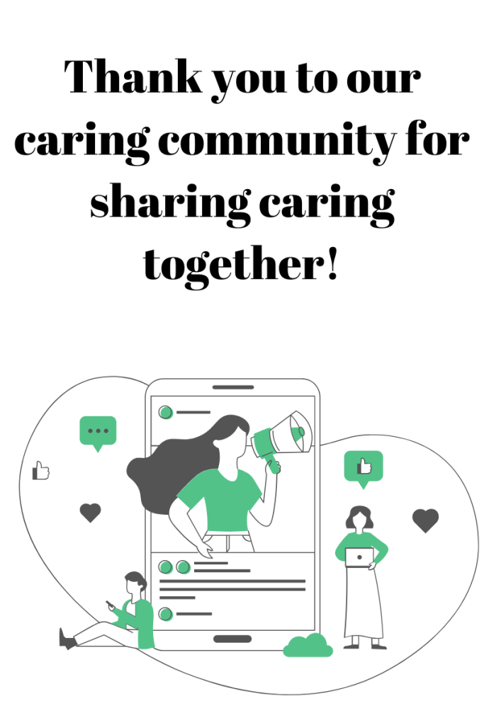 Thank you caring community