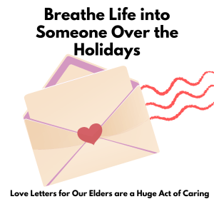 breathe life into someone by sending a letter