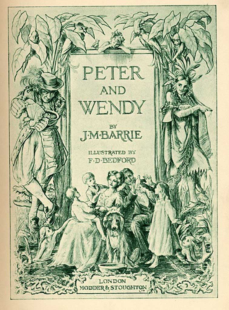 Who is Peter Pan Based On and Why Do You Think He is the Angel of Death?