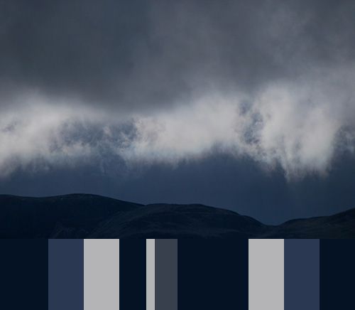 palette Stormy Blue