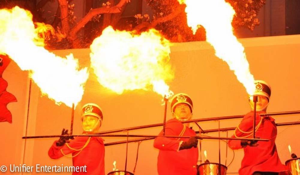 Fire Breathing Triplet