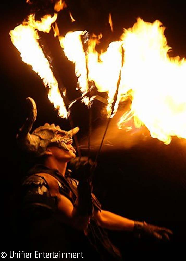 Fire Breathing Monster