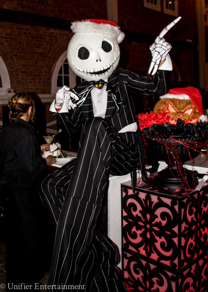 Jack Nightmare Costume Stilt Walker