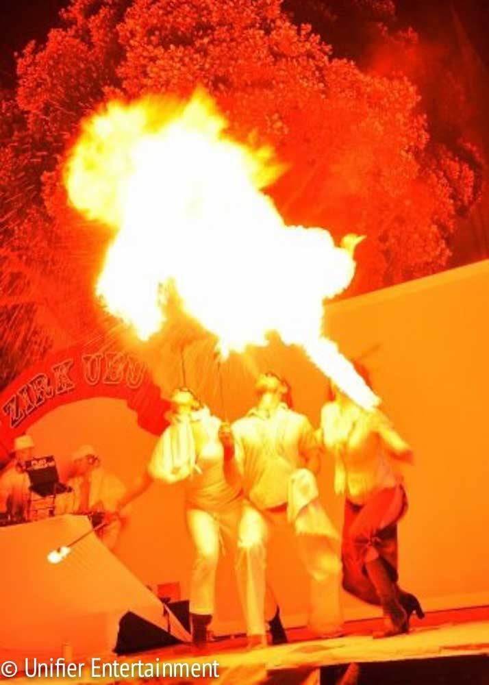 Multiple Fire Breathers