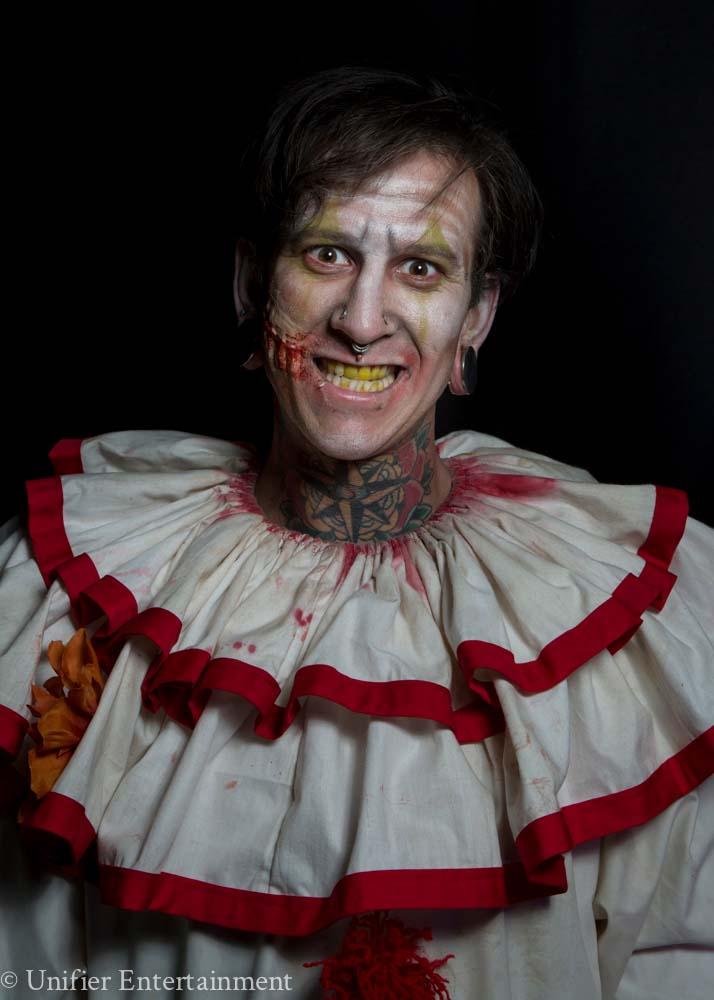 Scary Halloween Clown