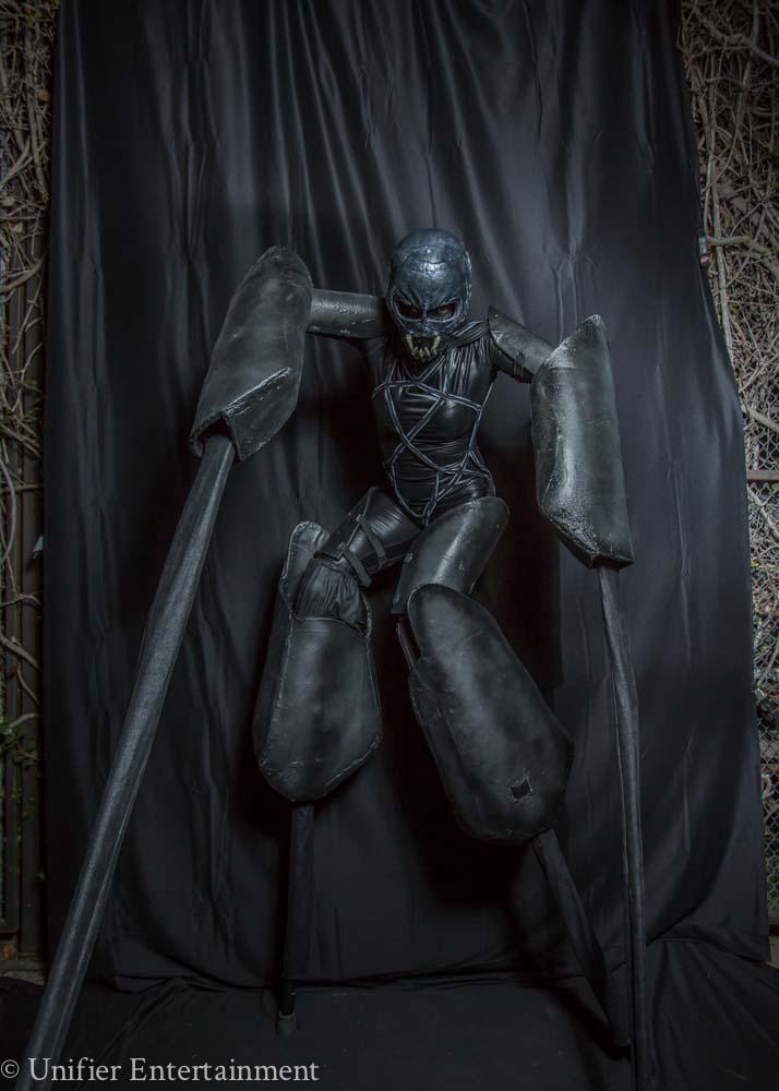 Spider Stilt Walking Costume